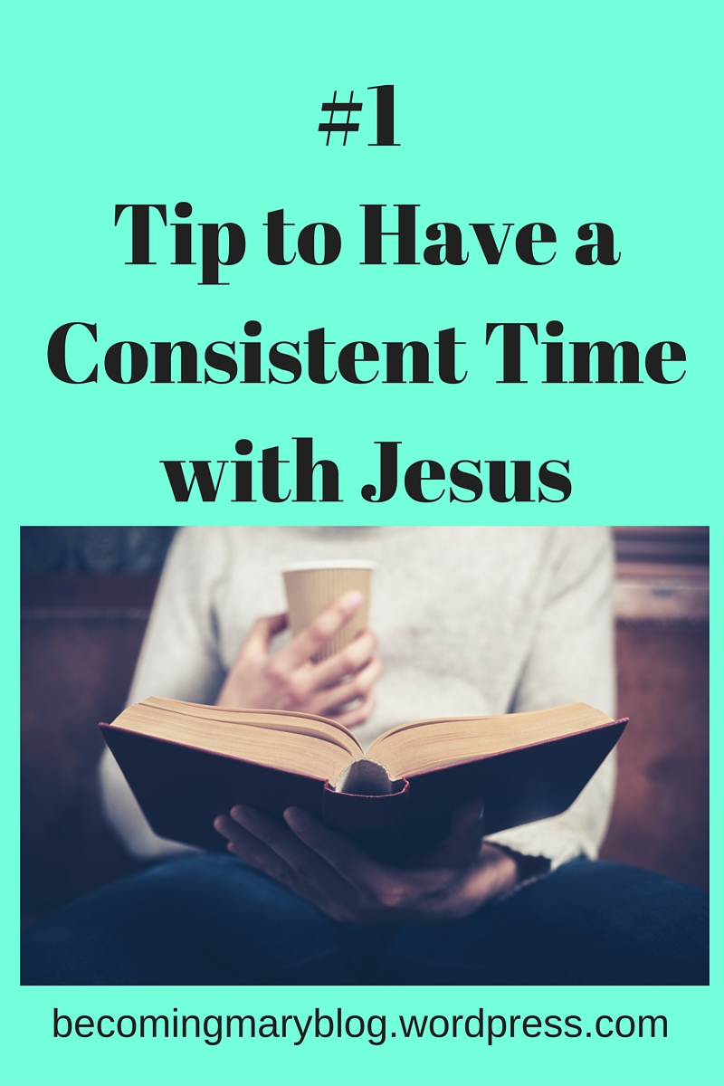 #1 Tip for Sitting with Jesus