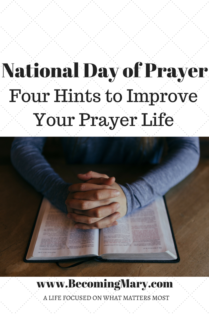 National Day of Prayer – Becoming Mary