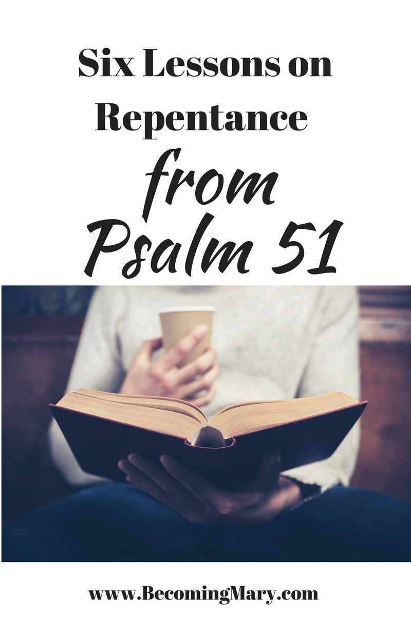 6 Lessons on Repentance from King David