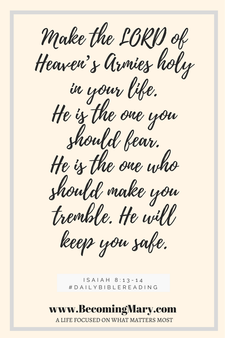 Isaiah 8-13-14