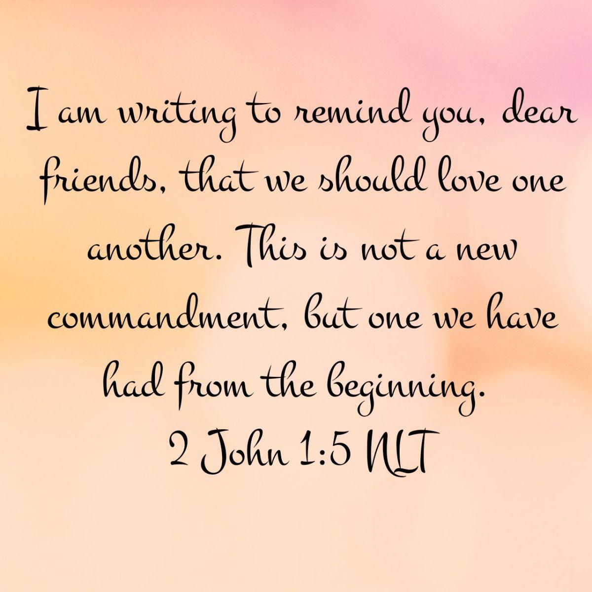 2 John 1:5