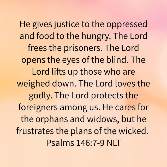 Psalms 146:7-9