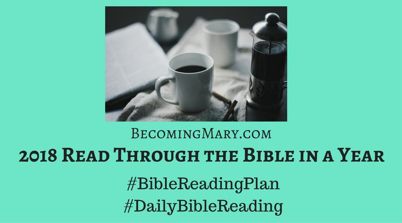 2018 Bible ReadingPlan